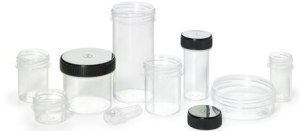 43mm Container / Jar with Threaded Top