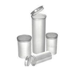 1″ Diameter Round Containers